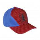 mayorista Artículos con licencia: Spiderman - gorra 3d, 53 cm, rojo