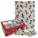 Großhandel Lizenzartikel: Mickey - Metallboxset, grau