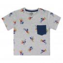 Mickey - Kurzarm T-Shirt Premium, grau
