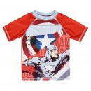 mayorista Artículos con licencia: Avengers - nadar camisa hulk, rojo