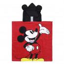 Großhandel Wellness & Massage:PONCHO BAUMWOLLE Mickey