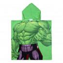 Avengers - poncho de algodón hulk, rosa