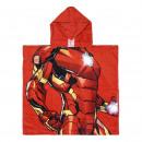 Großhandel Handtücher: Avengers - Poncho Cotton iron man , grün
