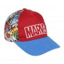 MARVEL - cap premium, 53 cm, rosso