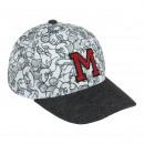 Mickey Cap Premium, 53 cm, grau