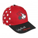 Minnie - bonnet premium, 53 cm, rouge