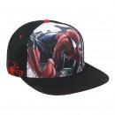 mayorista Bufandas, gorros & guantes: Spiderman - tapa plana pico, negro
