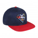 Superman - Cap Flat Peak, Marineblau