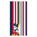 Mickey - handdoek polyester , rood