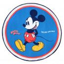 Mickey - handdoek rond, marineblauw