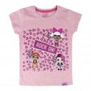 Großhandel Kinder- und Babybekleidung: LOL - T-Shirt Single Jersey , Rosa