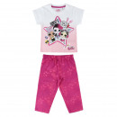 wholesale Sleepwear: LOL - cotton shortama single jersey, pink