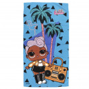 LOL - towel polyester, blue