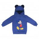 wholesale Pullover & Sweatshirts: BRUSH FLEECE HOODED SWEATSHIRT Mickey - 5 UNIT