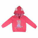 PEPPA PIG - hoodie cotton brushed, pink