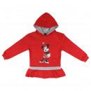 Minnie - Hoodie Brush Fleece, rot