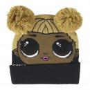 LOL - hat pompon, talla única, black