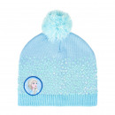 FROZEN II - hat pompon, one size, turquoise