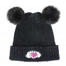 groothandel Licentie artikelen: Minnie - hoed pompon, talla ãšnica, zwart