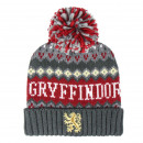 HARRY POTTER GRYFFINDOR POMPON CAP - 1 UNIT