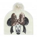 MINNIE - hat pompon, talla única, white