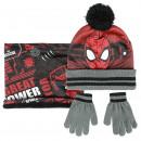 Spiderman - 3 set di pezzi, talla única, nero