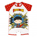 Superman - Baby Grow Single Jersey , rojo