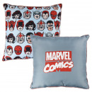 wholesale Cushions & Blankets: MARVEL - cushion premium, 40 cm, grey