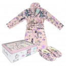 PEPPA PIG - gift set home flannel fleece, s: 03/04