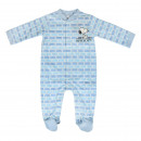 wholesale Childrens & Baby Clothing: SNOOPY - baby grow single jersey, blue