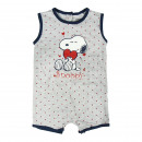 Snoopy - Baby Grow Single Jersey