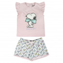 Großhandel Shirts & Tops: Snoopy - Pijama Corto Single Jersey , pink