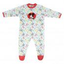 Großhandel Kinder- und Babybekleidung: Mickey - Baby Grow Interlock, weiß