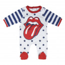 MUSIC - baby grow interlock rolling stones, white