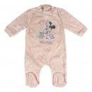 Minnie - bebé crece terciopelo, rosa