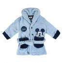 wholesale Fashion & Apparel: MICKEY - dressing gown coral fleece, blue