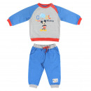 wholesale Sports & Leisure: MICKEY - tracksuit cotton brushed, blue