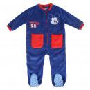 wholesale Nightwear: MICKEY - onsie coral fleece, navy