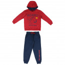 groothandel Sportkleding: Lion King - trainingspak borstel fleece, rood
