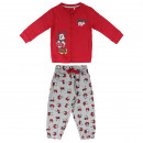 wholesale Sports & Leisure: MINNIE - tracksuit brush fleece, red