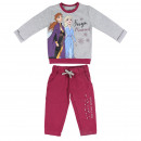 wholesale Sports & Leisure: FROZEN - tracksuit cotton brushed, grey