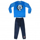 AVENGERS - long pajamas velour poly, blue