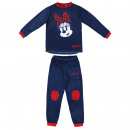 MINNIE - long pajamas velour poly, navy