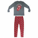 MUSIC - long pajamas interlock rolling stones, gre