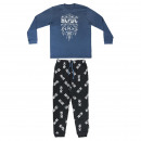 LONG PAJAMA INTERLOCK MUSIC ACDC - 6 UNITS