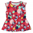 Großhandel Kinder- und Babybekleidung: Minnie - Kleid einzeln Jersey , Rosa