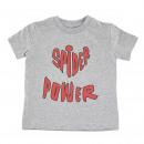 Großhandel Shirts & Tops: Spiderman - - T-Shirt Single Jersey grau