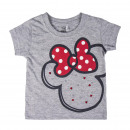 MINNIE - t-shirt single jersey, grey