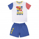 MINIONS - short pajamas single jersey, yellow