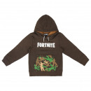 BRUSH FLEECE FORTNITE HOODED SWEATSHIRT - 8 UNI